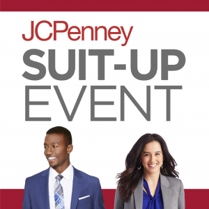 JCPenney Suit-Up Event promo graphic