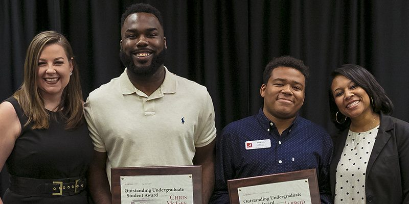 Career Center's McGee, Stisher get Division of Student Life honor