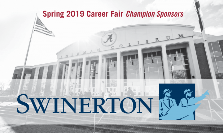 2019 Spring Career Fair Champion Sponsors - Swinerton
