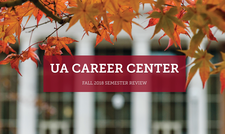 Career Center Fall 2018 Semester Recap Promo