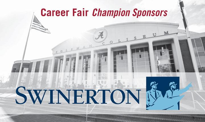 Career Fair Champion Sponsors - Swinerton