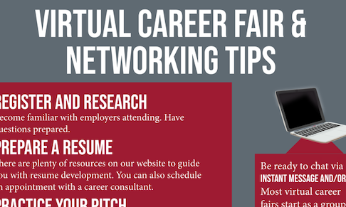 Tips for Virtual Career Fairs and Networking