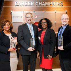 Career Champion Partners at the Career Champion Celebration in Fall 2018