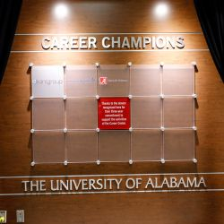 The Career Champion Recognition Wall
